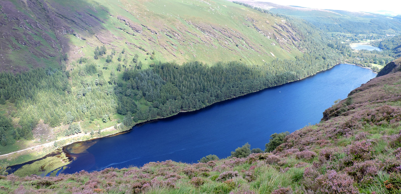 Glendalough Upper Lake Ireland