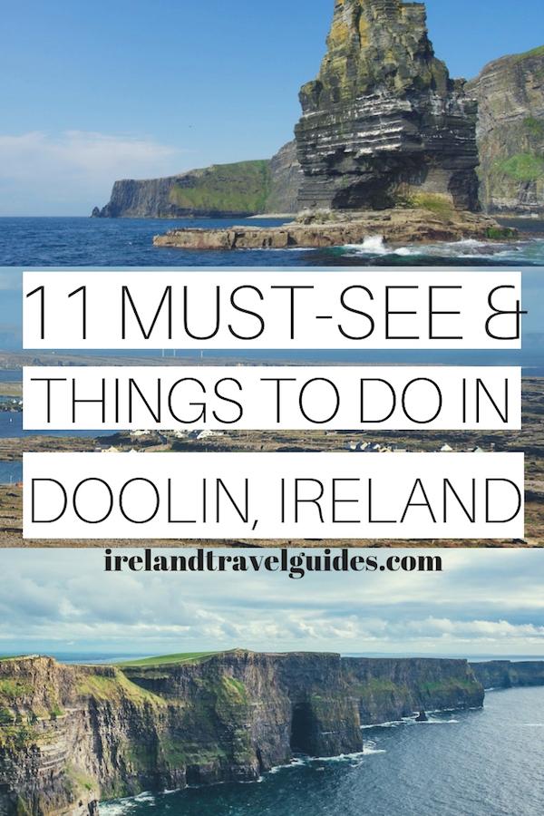11 THINGS TO DO IN DOOLIN IRELAND   IRELAND TRAVEL GUIDE   IRELAND TRAVEL IDEAS   IRELAND TRAVEL DESTINATIONS   THINGS TO DO IN IRELAND   DOOLIN TRAVEL   IRELAND TRAVEL TIPS #ireland #doolin #europe #travel