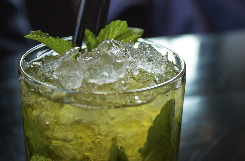 IRISH MOJITO DRINK
