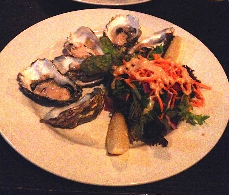 galway oysters dish