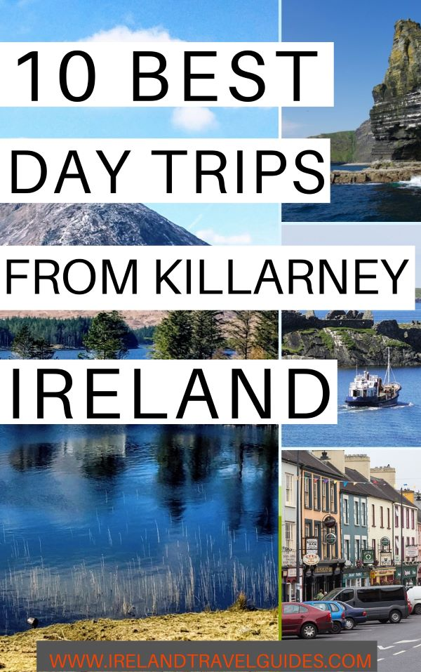 10 BEST DAY TRIPS FROM KILLARNEY IRELAND| KILLARNEY DAY TOUR | KILLARNEY DAY TRIP | KILLARNEY TRAVEL IDEAS |COUNTY KERRY TRAVEL IDEAS | COUNTY KERRY TRAVEL DESTINATION| IRELAND TRAVEL IDEAS | IRELAND TRIP | TRAVEL TO IRELAND |TRAVEL IRELAND | # ireland # travel # Europe #