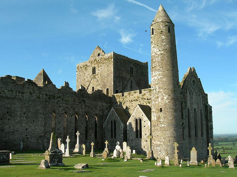Church and Tower at Rock of Cashel