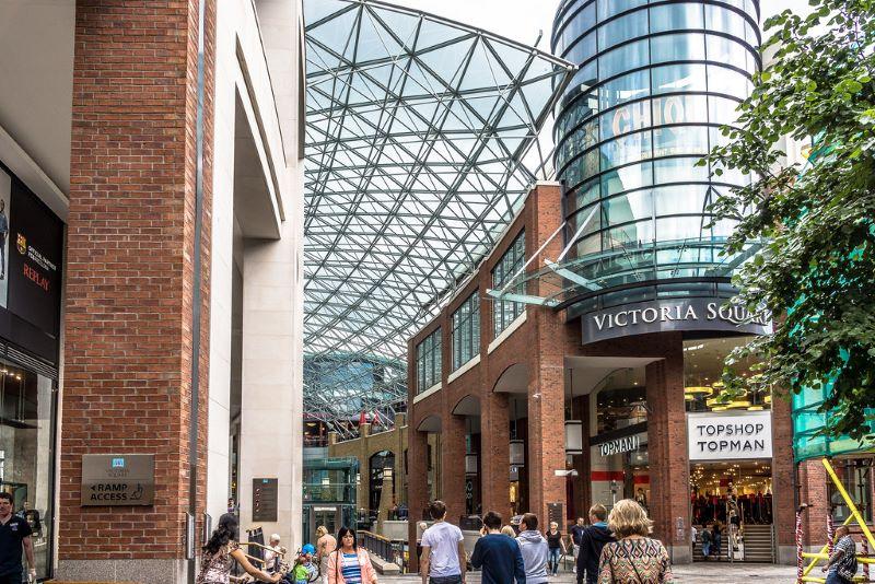 Victoria Square Shopping Center Belfast