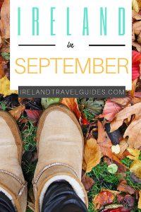 Ireland in September | Ireland travel guide | Ireland travel ideas | Ireland travel destinations #ireland #travel #europe