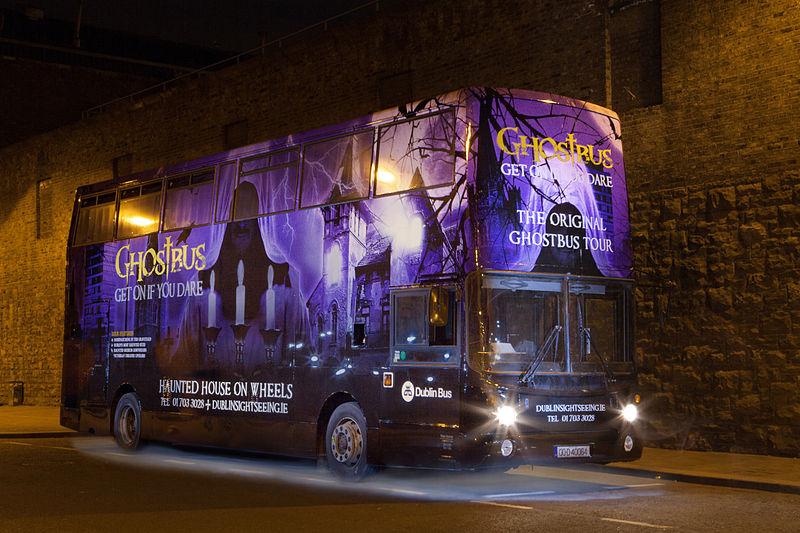 Dublin Tours Ghostbus