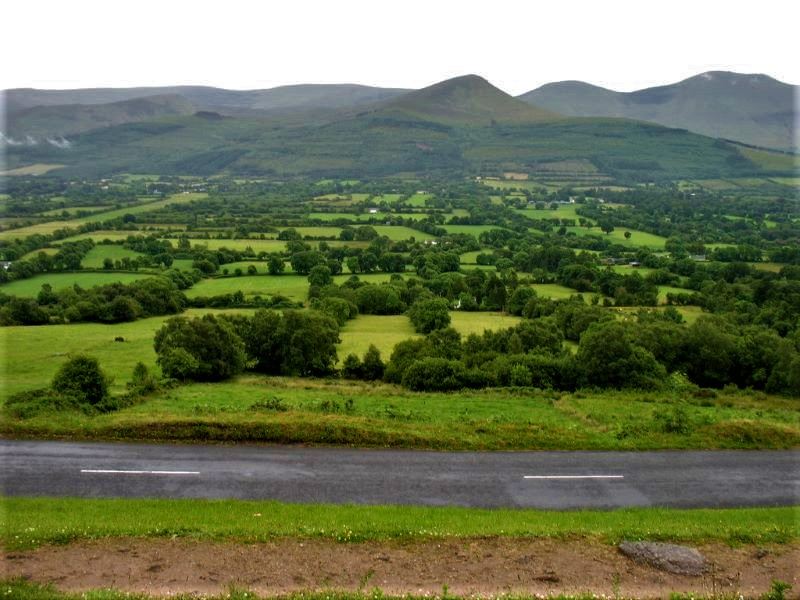 Glen of Aherlow view Tipperary
