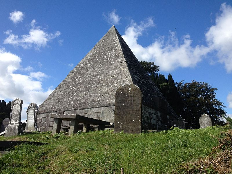 Howard Mausoleum Pyramid