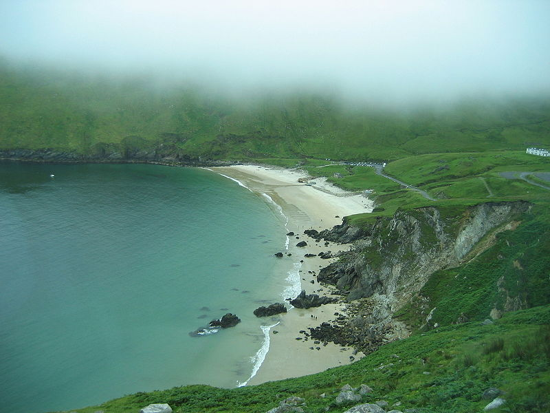 Keel beach achill island