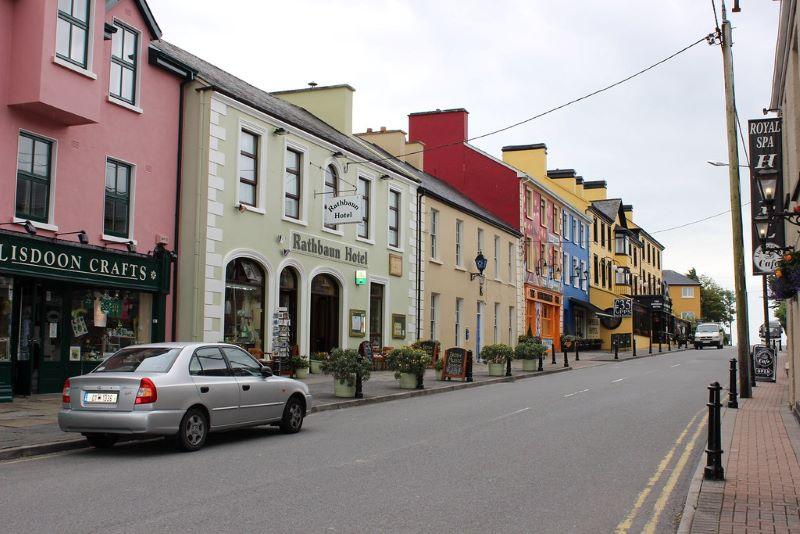 Lisdoonvarna Town County Clare