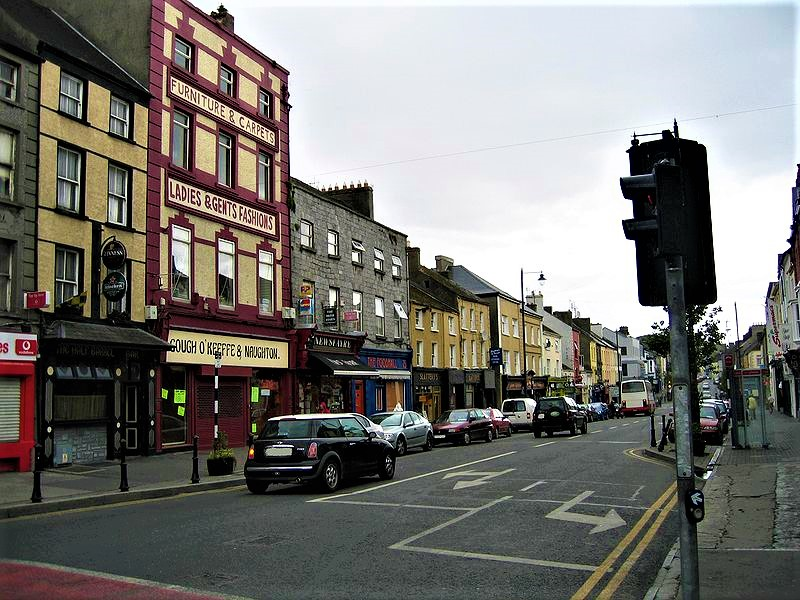 Street in Nenagh Tipperary