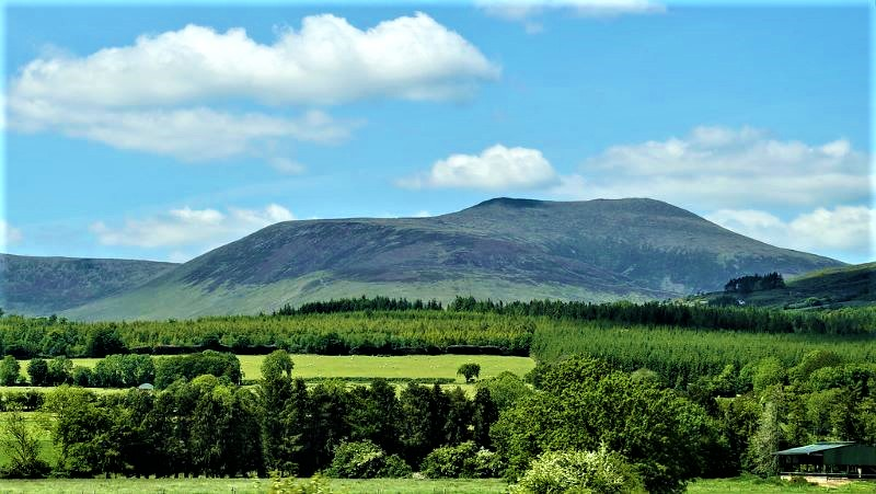 The Galtee Mountains Tipperary