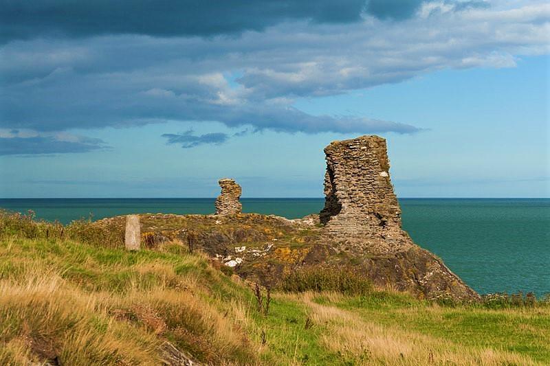 Wicklow Black Castle Ruins