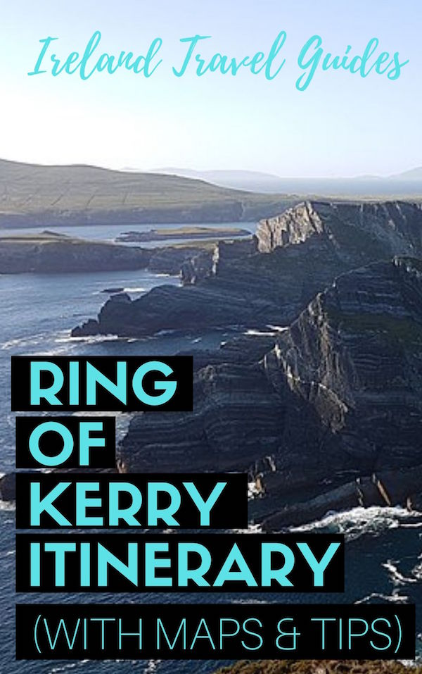 Ring of Kerry Itinerary For 7 Days (with tips and maps) | Ring of Kerry Route | Ireland Travel Ideas | Ireland travel tips | Ireland travel destinations #ireland #ringofkerry #europe