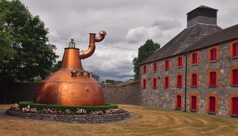 Old Jameson Distillery in ireland