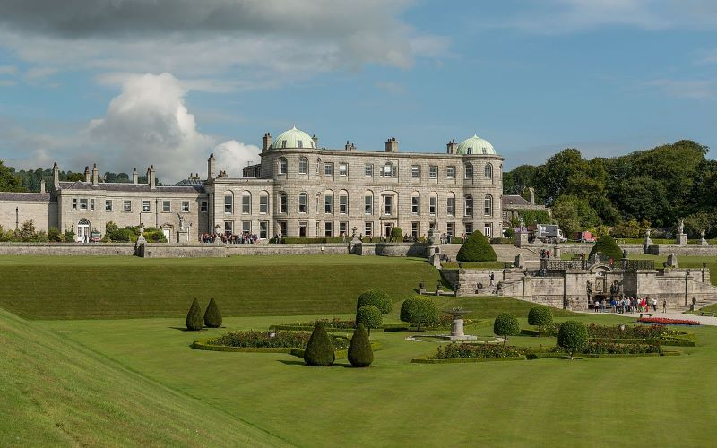 powerscourt estate and gardens