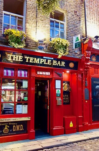 Temple Bar– The Best Pub In Ireland