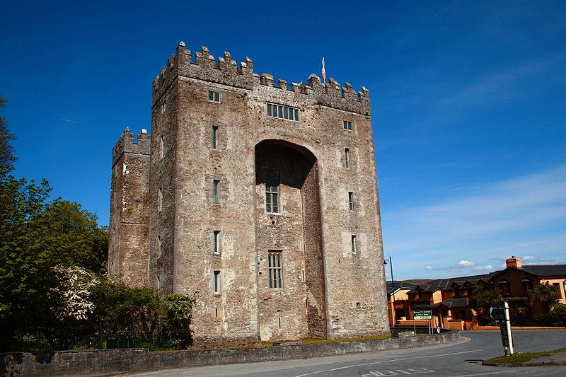 Bunratty Castle facade