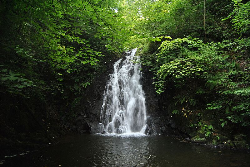Glenoe Waterfall Ireland