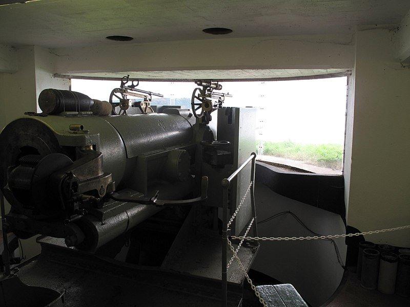 6-inch guns