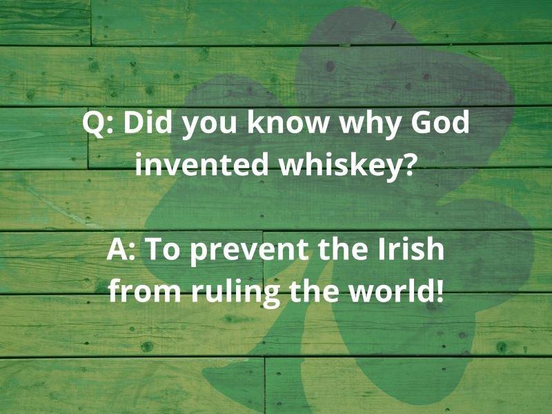 irish drunk jokes